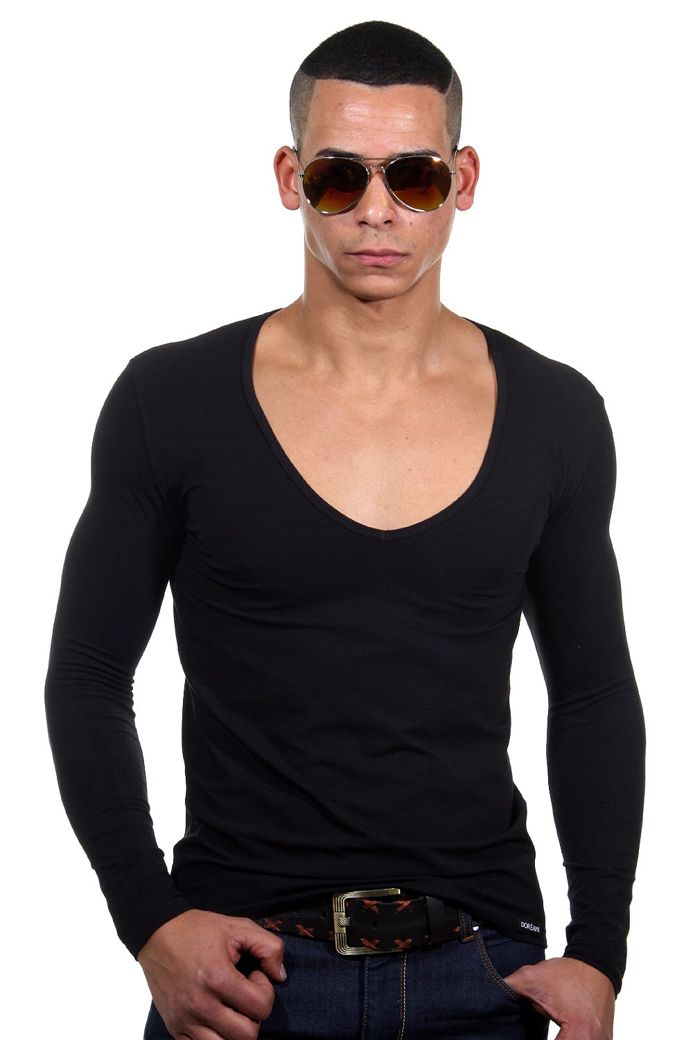 DOREANSE long sleeve top at oboy.com