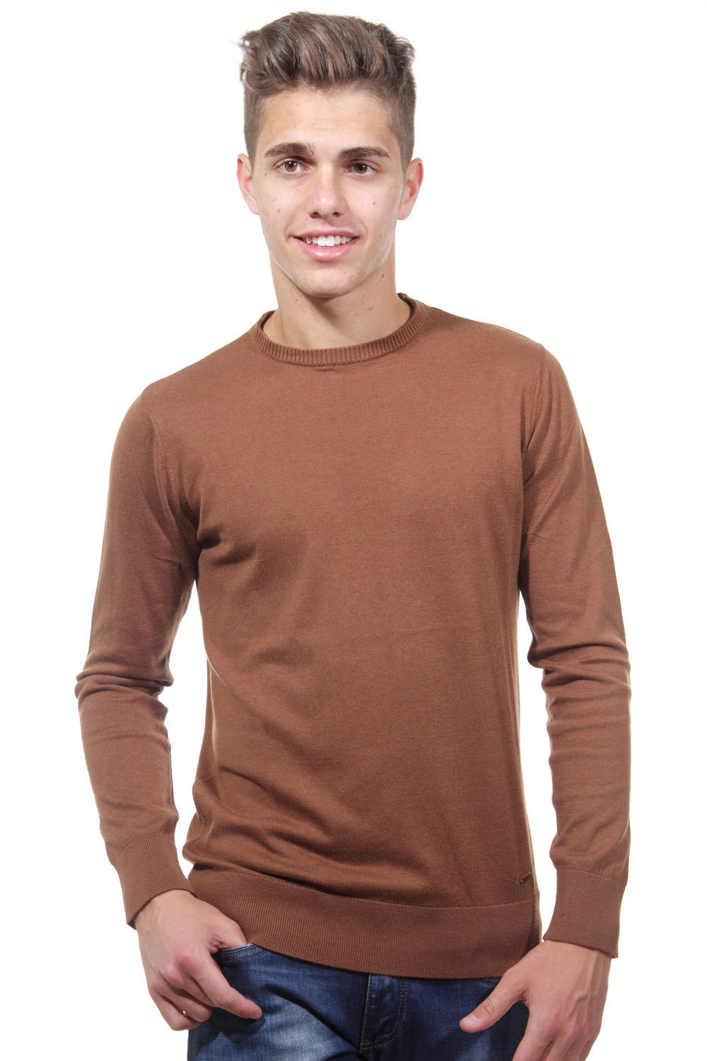 XINT jumper r-neck slim fit at oboy.com