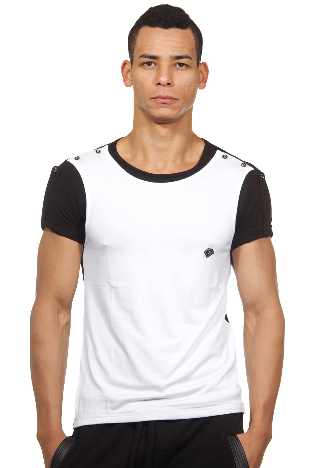 FIYASKO t-shirt r-neck slim fit at oboy.com