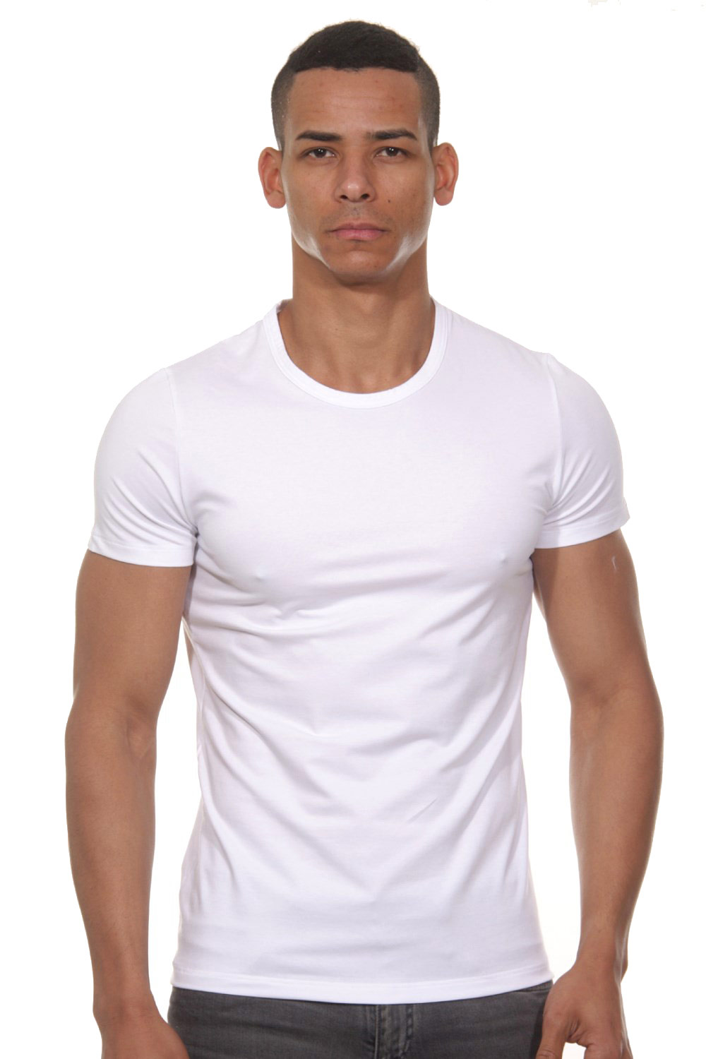 HOM Classic Tee-shirt Crew Neck at oboy.com