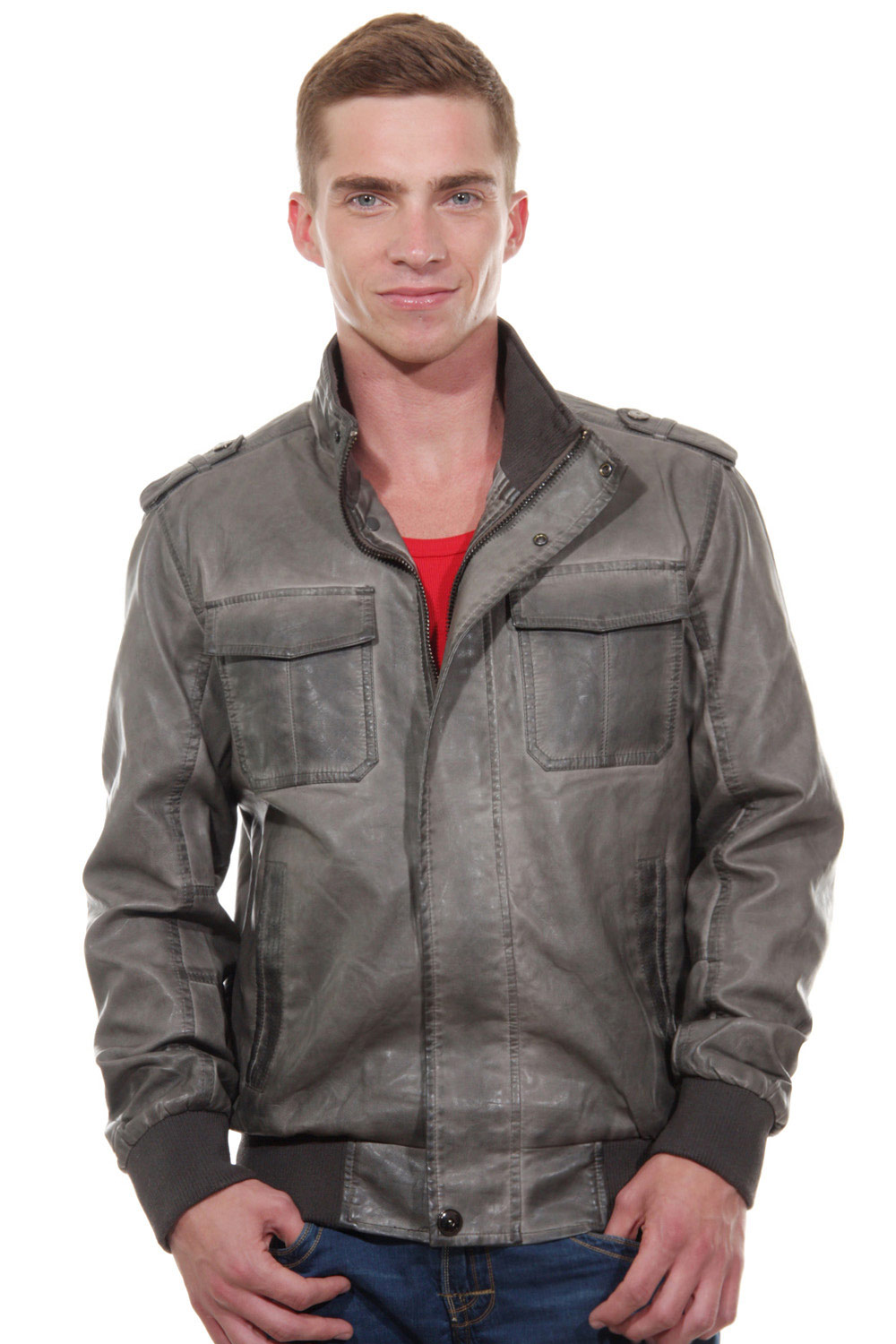 EXUMA jacket slim fit at oboy.com
