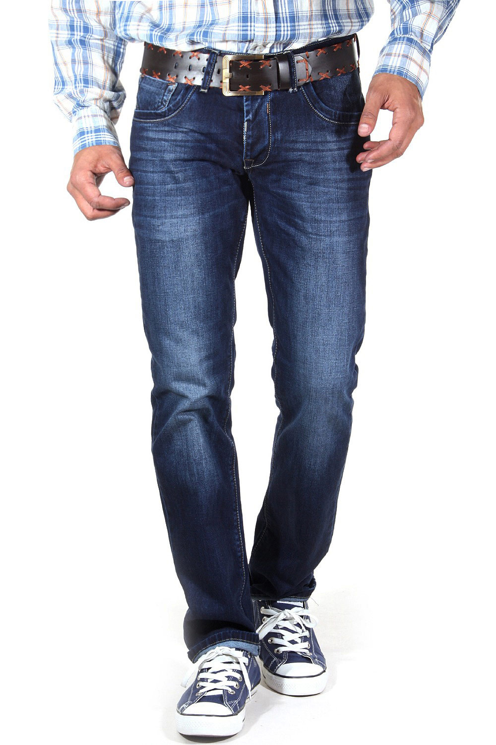 BRIGHT CLASSIC hipjeans regular fit at oboy.com