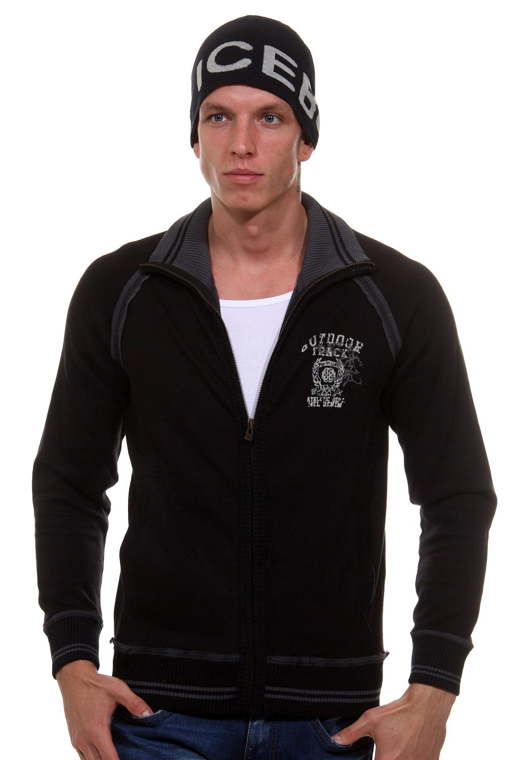 MCL sweat jacket at oboy.com