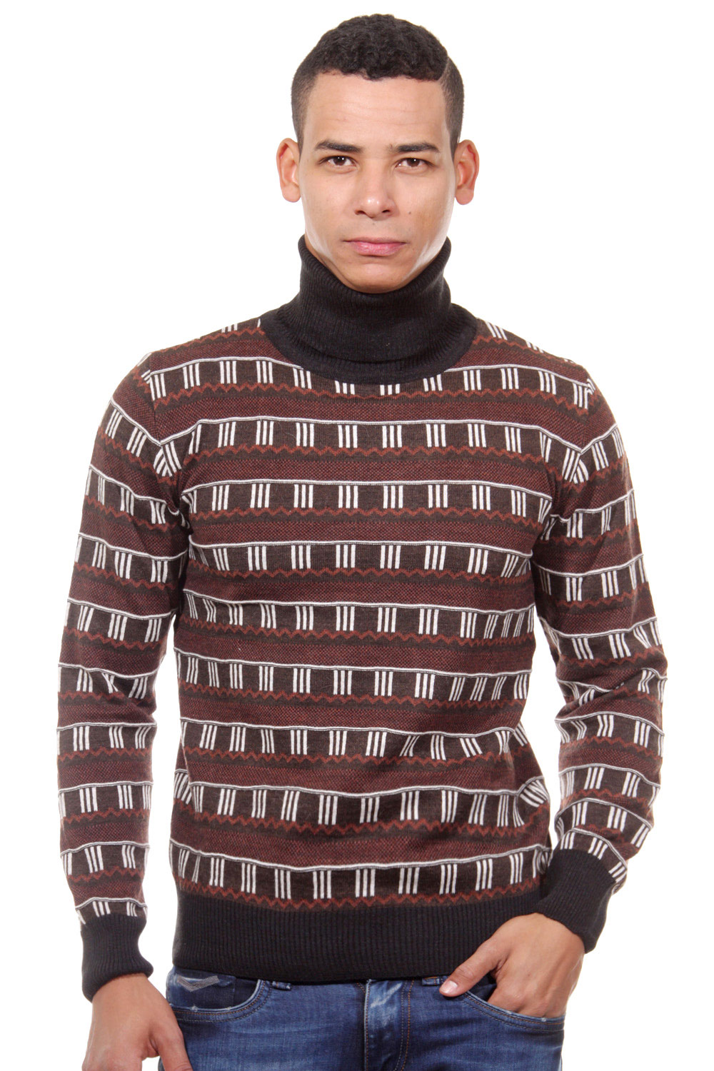 MCL jumper turtle neck slim fit at oboy.com