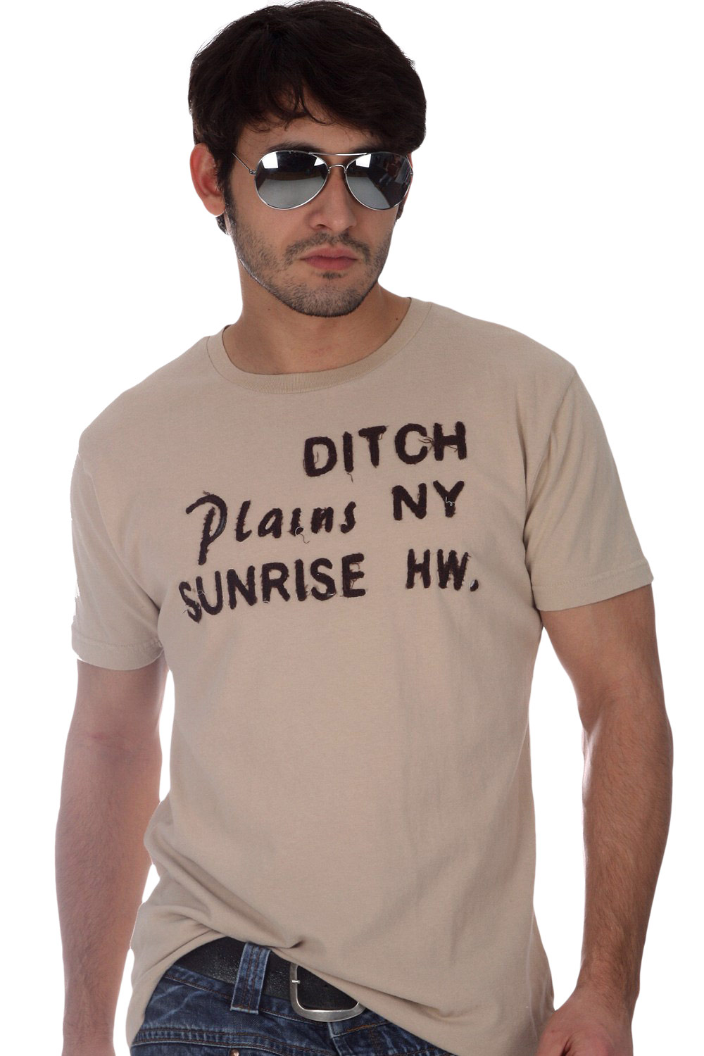 DITCH PLAINS Vintage T-Shirt Fancy at oboy.com