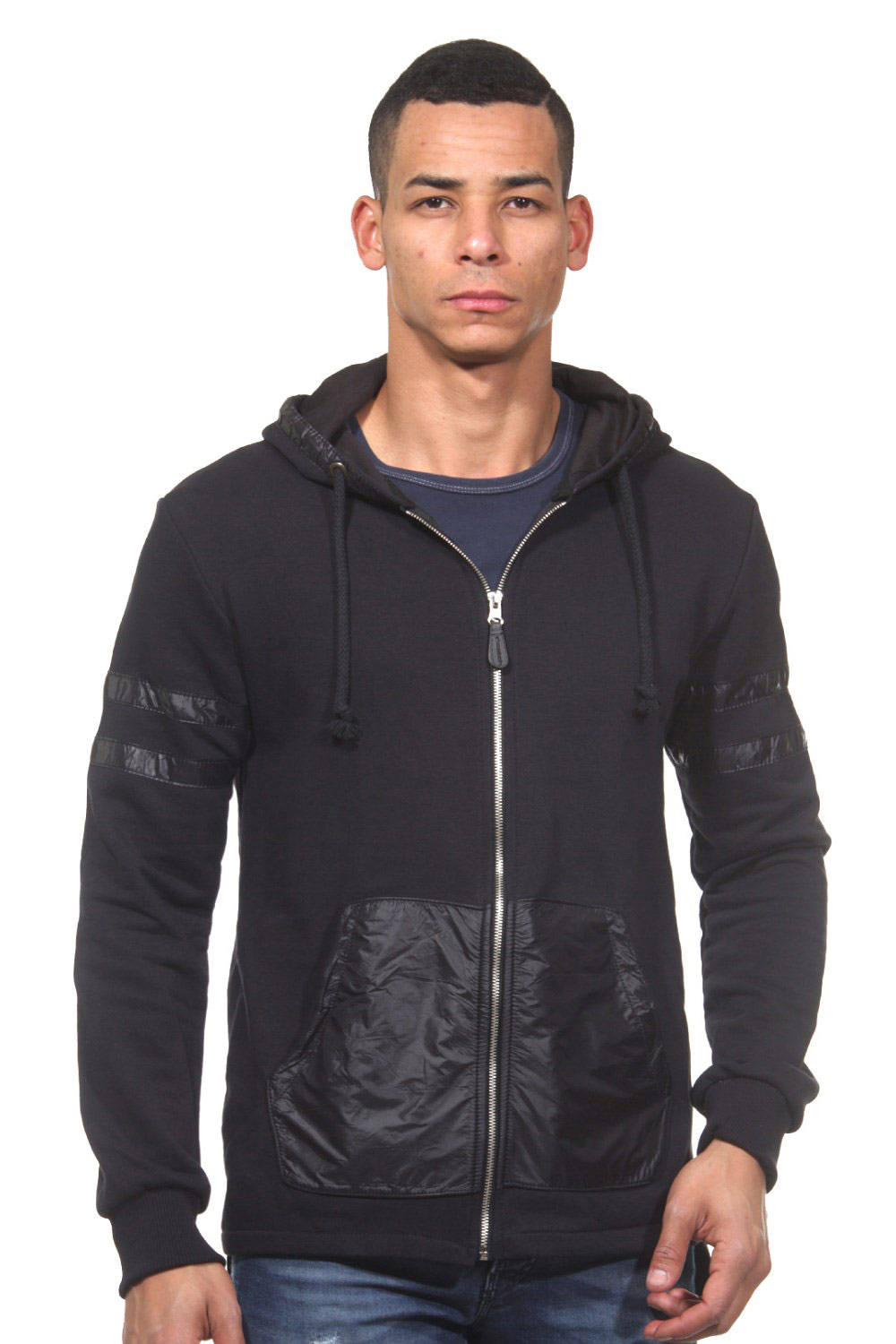 CATCH hood sweat jacket slim fit at oboy.com
