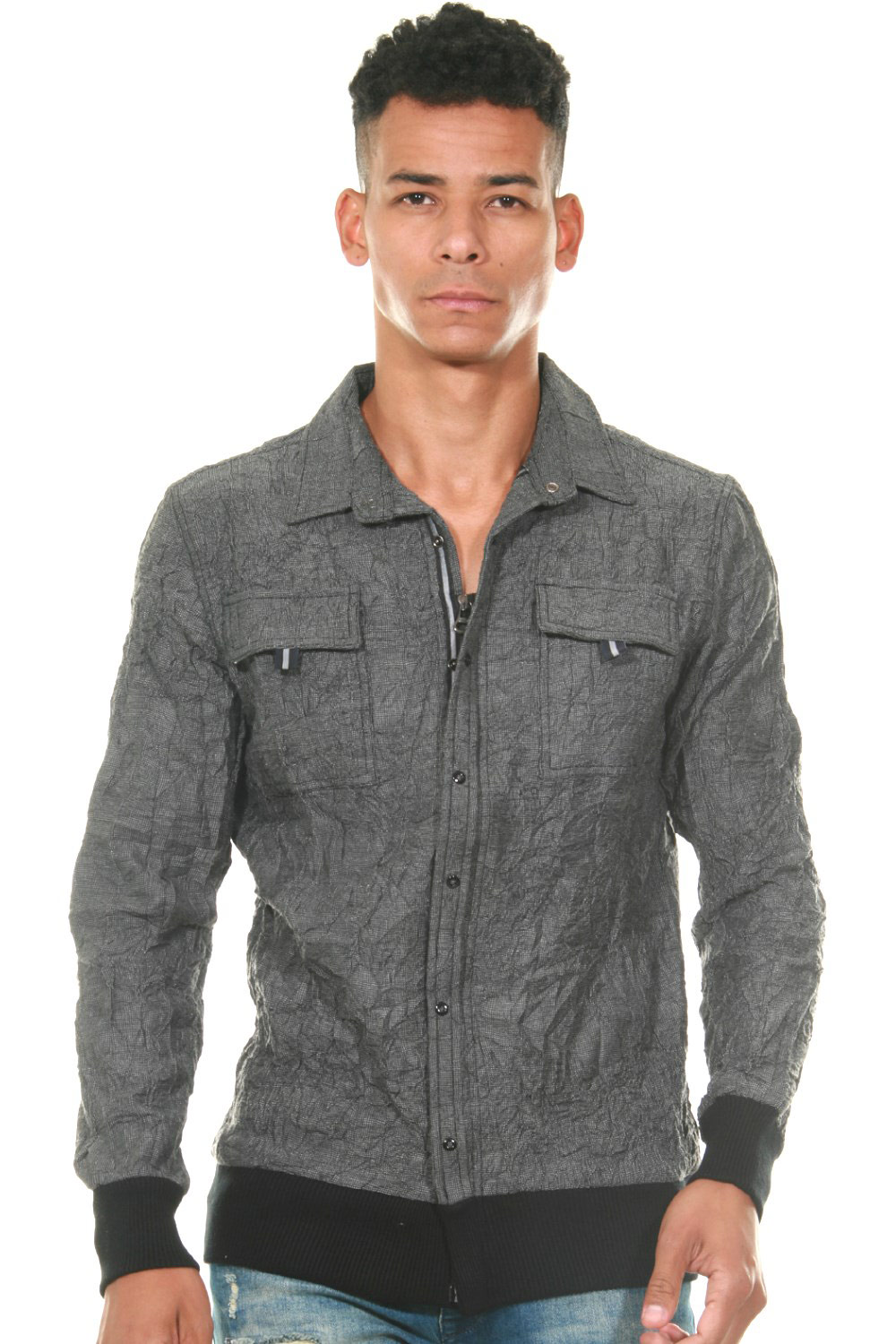 FIOCEO shirt jacket at oboy.com