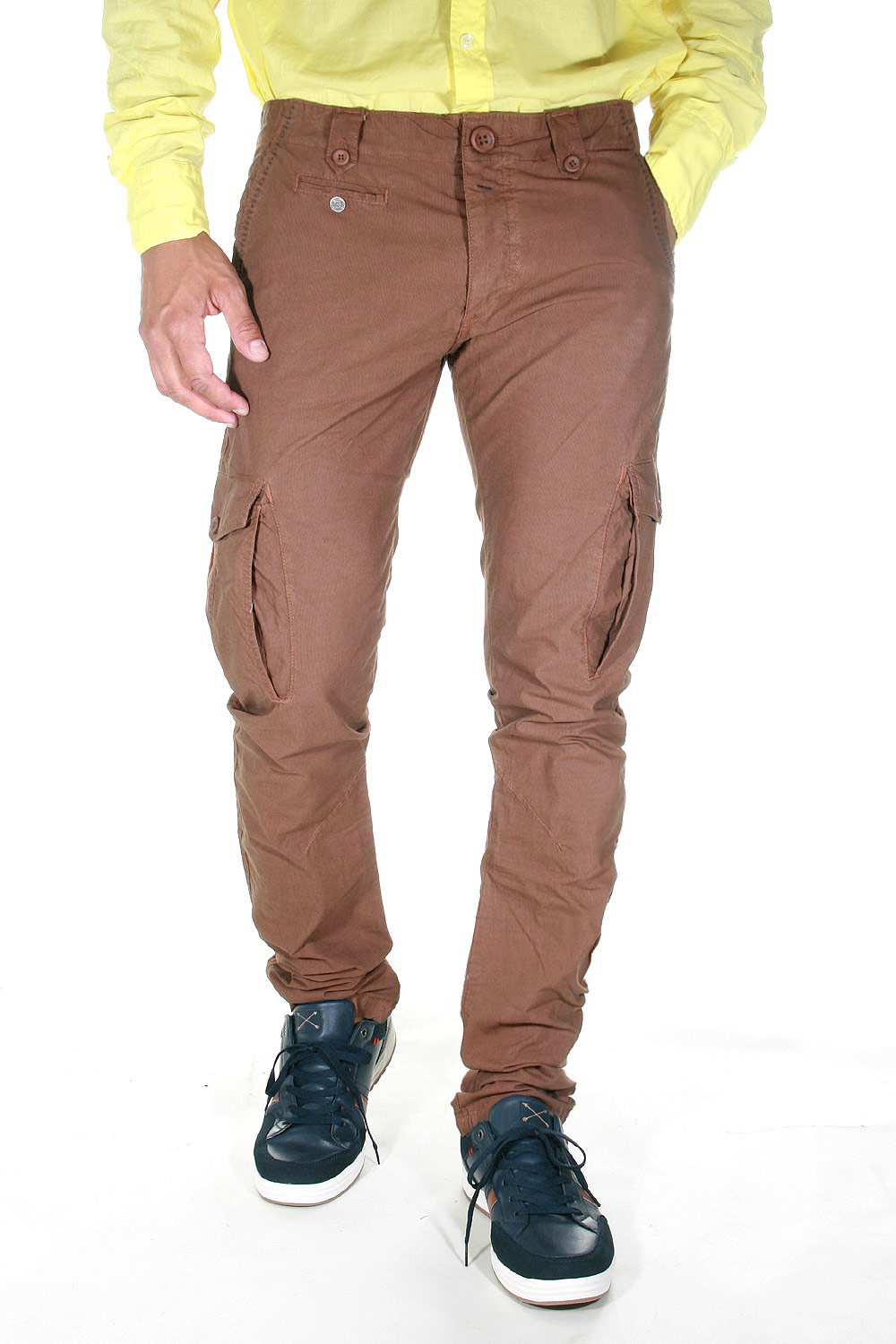 EX-PENT Cargo trousers at oboy.com