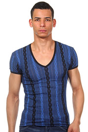 EROS VENEZIANI t-shirt v-neck slim fit at oboy.com