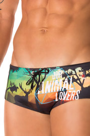 JOR ANIMAL beach trunks at oboy.com
