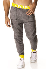 Workoutpants black JOR ENERGY LONG at oboy.com