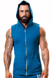 JOR WARRIOR hoodie tank at oboy.com