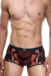 L`HOMME INVISIBLE VELOURS et LUXURE mini trunks at oboy.com