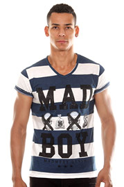 MADMEXT T-shirt V neck at oboy.com