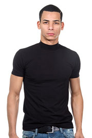 DOREANSE t-shirt rollneck at oboy.com
