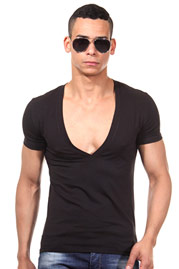 DOREANSE t-shirt v-neck slim fit at oboy.com