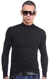 DOREANSE long sleeve top turtle neck at oboy.com