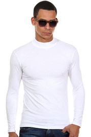 DOREANSE long sleeve top turtle neck slim fit at oboy.com