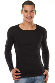 DOREANSE THERMAL long sleeve top at oboy.com