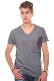 JENERIC t-shirt v-neck regular fit at oboy.com