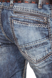 CIPO&BAXX fashion jeans regular fit at oboy.com