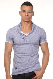 RED BRIDGE 2in1 V-neck  at oboy.com