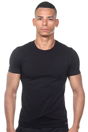IMPETUS COTTON STRETCH T-shirt round neck at oboy.com