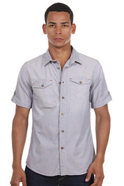 AGLIO & OLIO short sleeve shirt slim fit at oboy.com