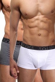 HOM HOM Boxerlines #2 trunks HO1 -2 PACK at oboy.com