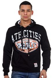 BRADLEY hoodie sweater regular fit at oboy.com