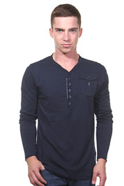 ICEBOYS henley long sleeve top regular fit at oboy.com