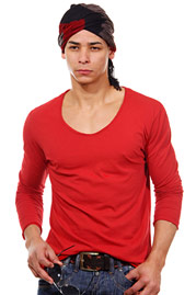 OBOY STREETWEAR long sleeve top slim fit at oboy.com