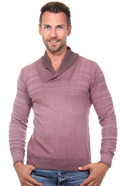 R-NEAL jumper shawl collar slim fit at oboy.com