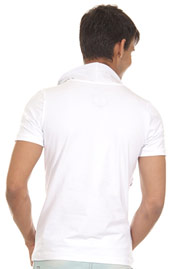 R-NEAL t-shirt shawl collar slim fit at oboy.com