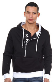 R-NEAL hoodie sweater with zip regular fit at oboy.com