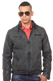 R-NEAL biker-jacket regular fit at oboy.com