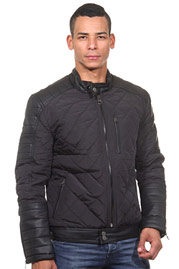 R-NEAL jacket with stand-up collar slim fit at oboy.com