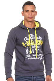 R-NEAL hoodie sweater slim fit at oboy.com