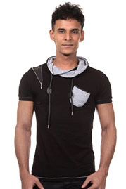 ISR t-shirt shawl collar at oboy.com