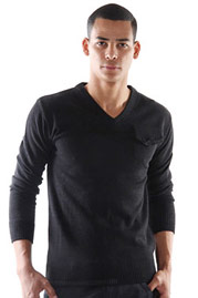 EXUMA pullover v-neck at oboy.com