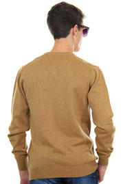 EXUMA jumper v-neck slim fit at oboy.com