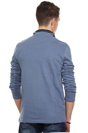 EXUMA sweater stand-up collar slim fit at oboy.com