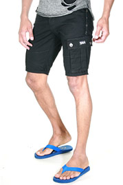 BRIGHT MORATO DENIM shorts at oboy.com