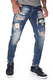 BRIGHT MORATO DENIM jeans at oboy.com