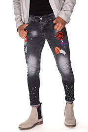 BRIGHT ankle jeans at oboy.com