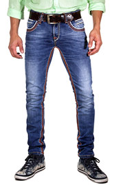 BRIGHT stretch jeans regular fit at oboy.com