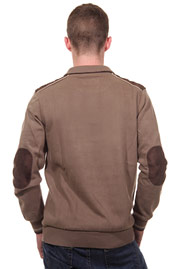 MCL sweater stand-up collar regular fit at oboy.com
