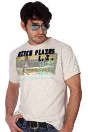 DITCH PLAINS Vintage Heavy Jersey Crew at oboy.com