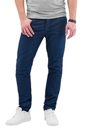CAZZY CLANG Tone III Straight Fit Jeans Blue at oboy.com