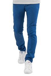 CAZZY CLANG Dye Slim Fit Jeans Blue at oboy.com